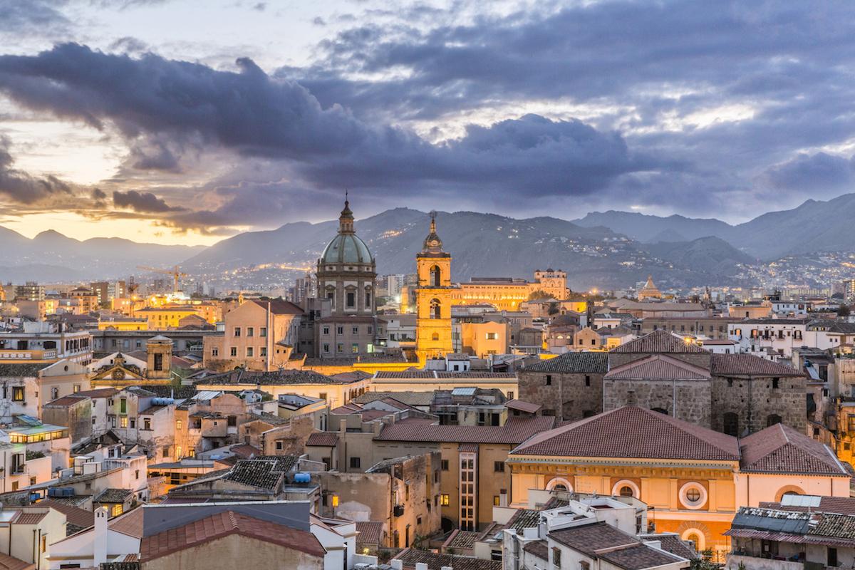 Palermo es la ciudad más poblada de Sicilia, capital de la isla (iStock).