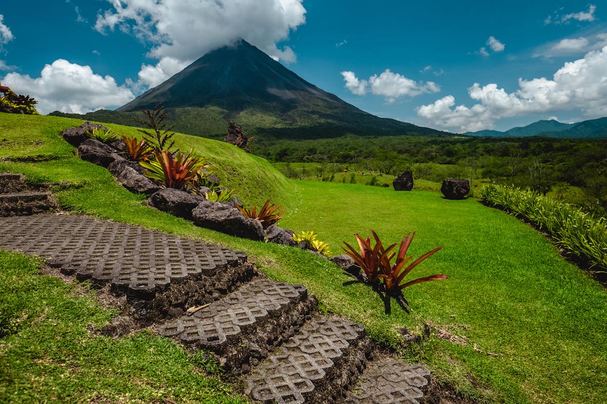 El volcán de Arenal es uno de los más espectaculares del país (iStock).