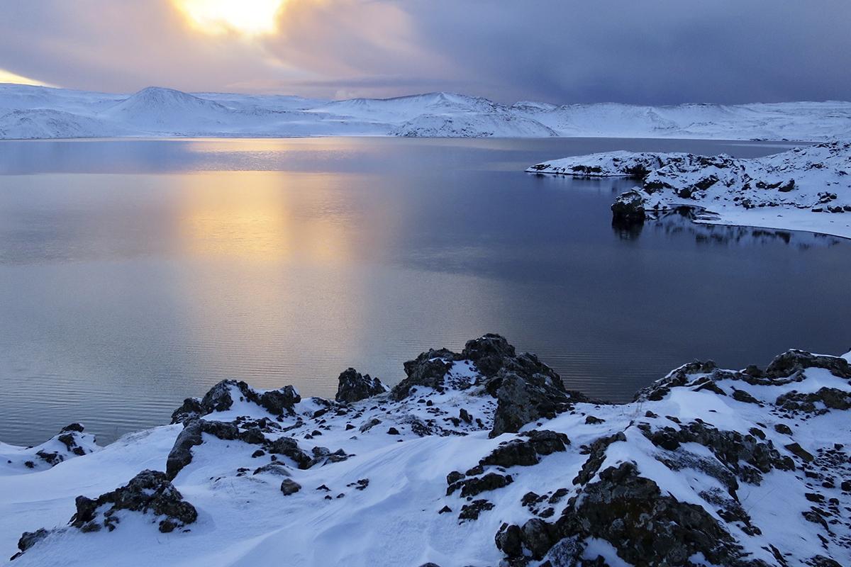 Lago Kleifarvatn es uno de los lagos más bonitos de Islandia (iStock)