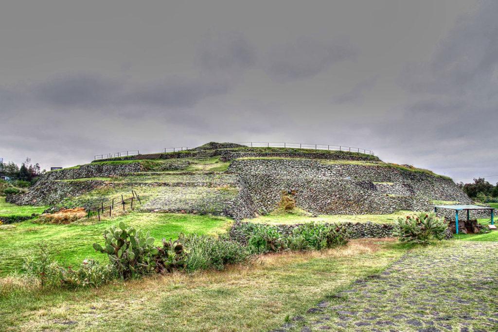 Pirámide de Cuicuilco (iStock)