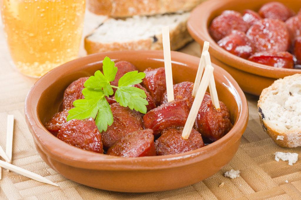 Chorizo a la sidra (iStock)