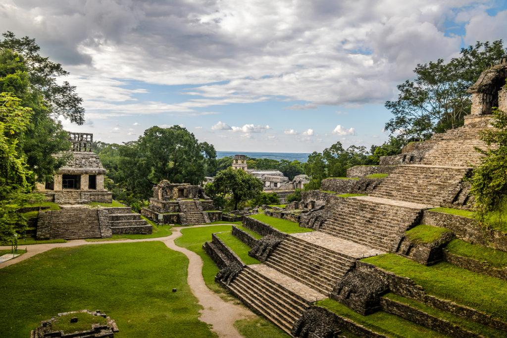 Palenque es un destino popular por sus famosas ruinas mayas (iStock)