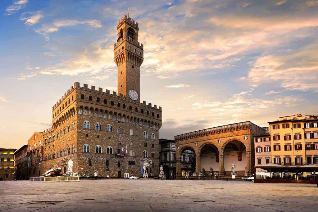El Palazzo Vecchio se construyó entre 1299 y 1314 (iStock)