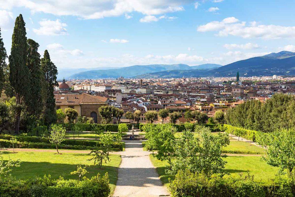 Los jardines de Boboli están detrás del Palacio Pitti (iStock)