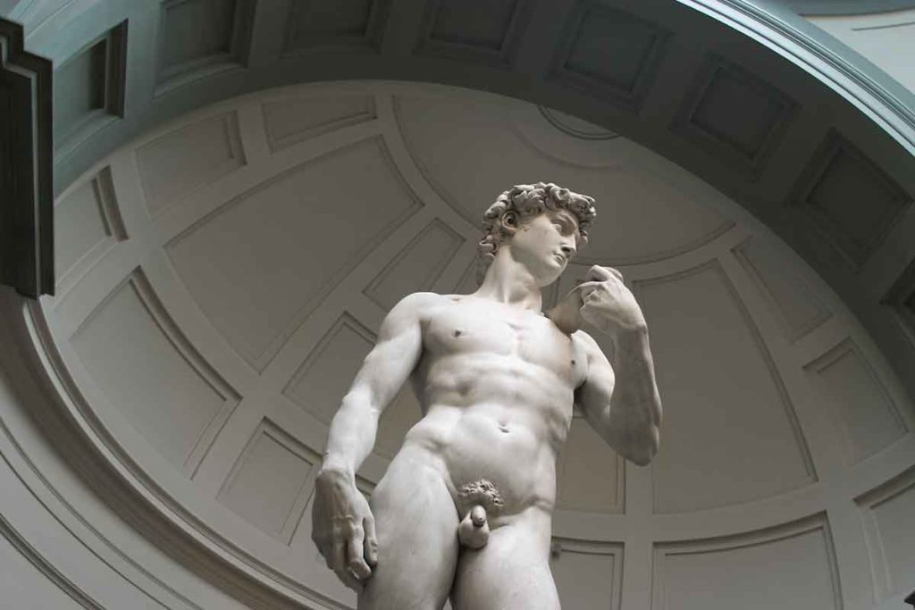 El David de Miguel Ángel, un símbolo del Renacimiento que no podía faltar entre los imprescindibles que ver en Florencia (iStock)
