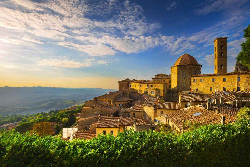 Volterra tiene pasado etrusco y romano (iStock)