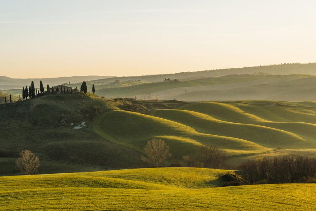 Otro plan en la Toscana es contemplar sus paisajes de ensueño (Pixabay)