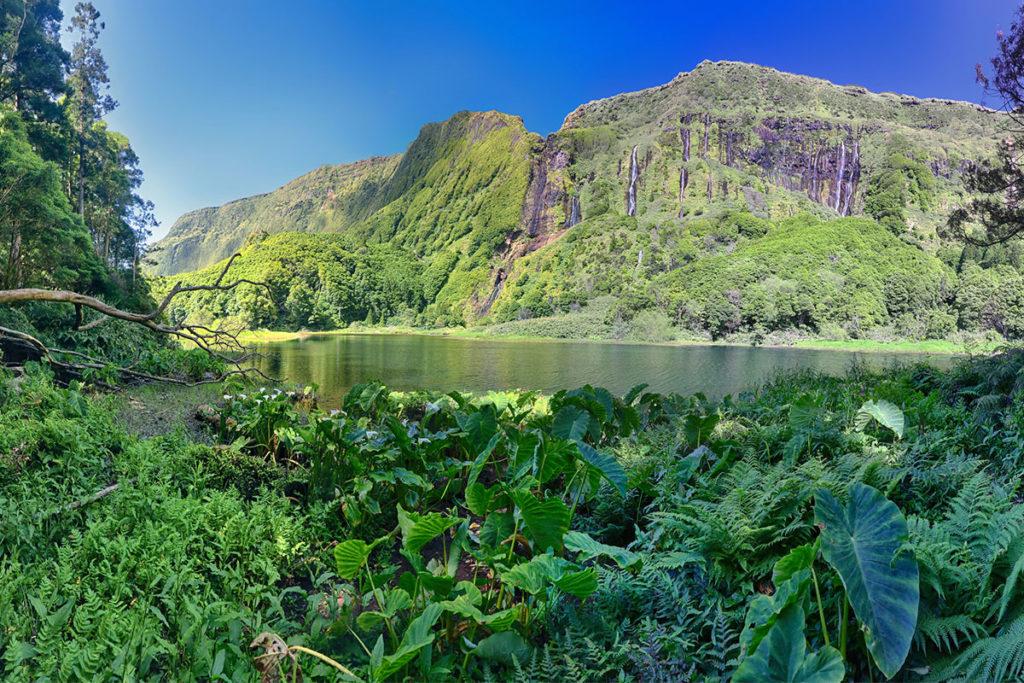 En la Isla de las Flores está uno de los puntos más impresionantes de las Azores (iStock)
