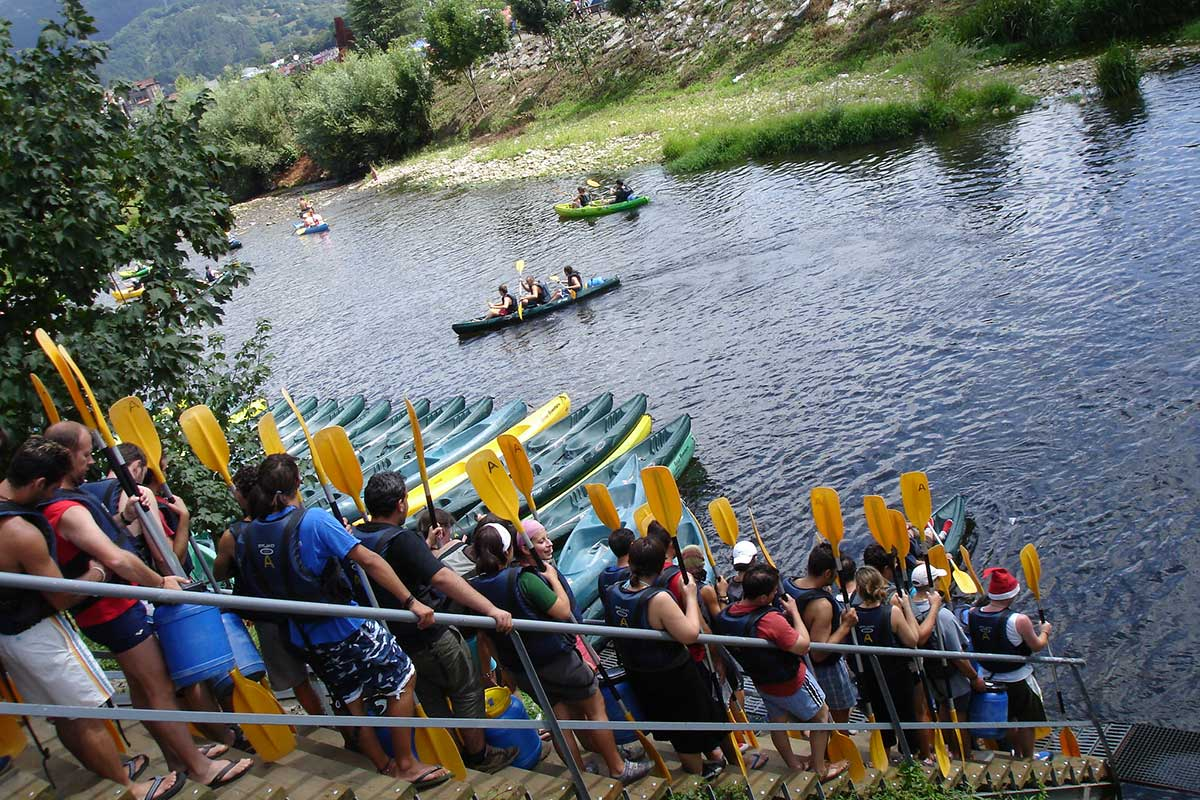 El tradicional Descenso del Sella se celebra desde 1930 (Flickr, crtlw)