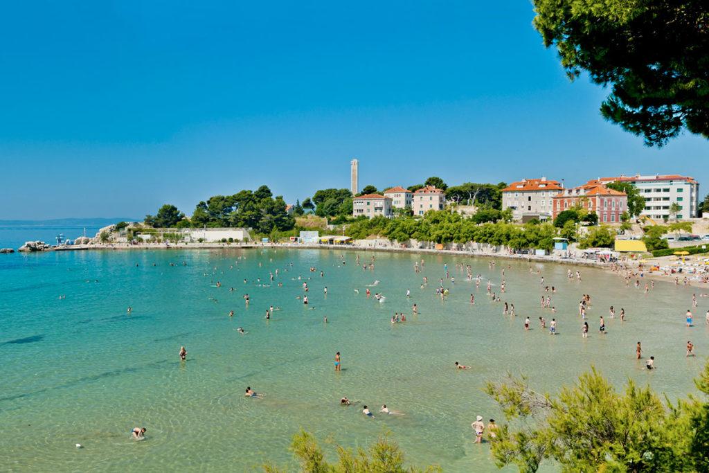Bacvice es la playa de Split y otra de las playas de Croacia que debes visitar (iStock)
