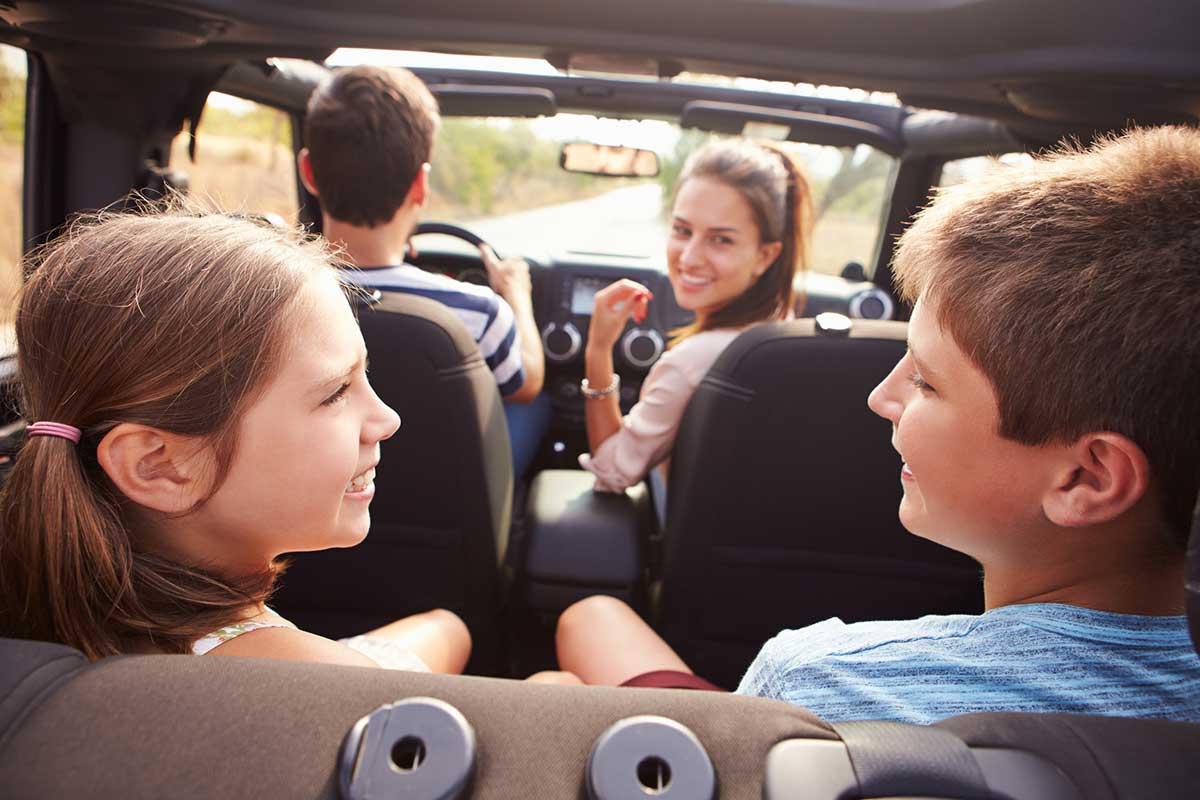 juegos en familia para el coche