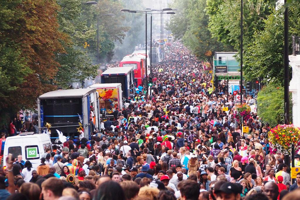 El carnaval en Notting Hill se celebra en agosto (iStock)