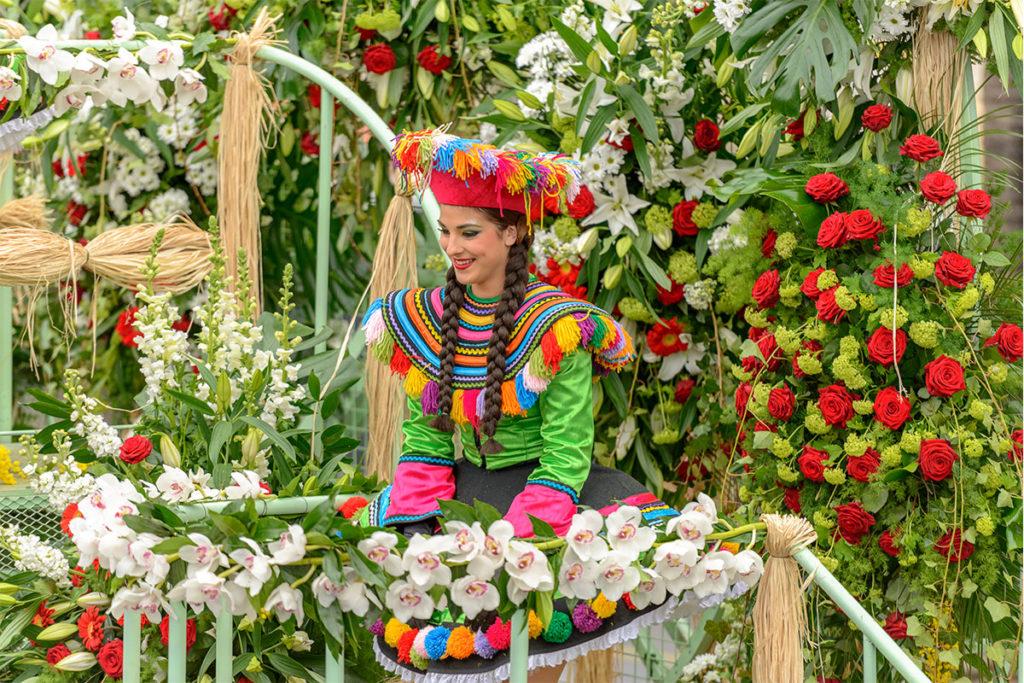 Las flores son protagonistas en el Carnaval de Niza (iStock)