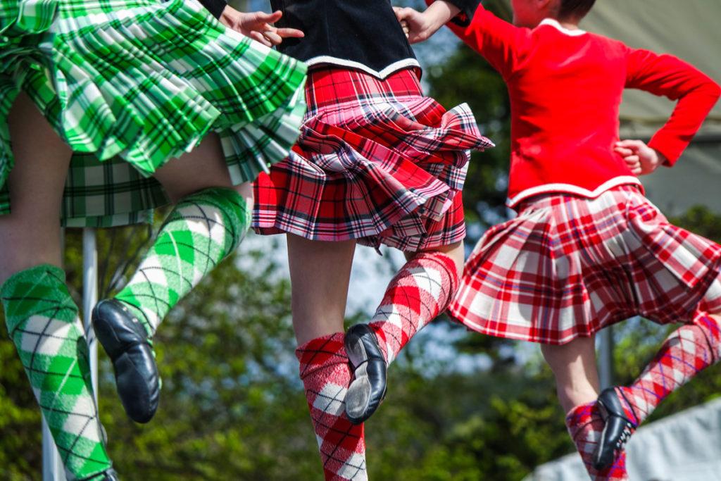 Los Ceilidh son los bailes tradicionales escoceses (iStock)