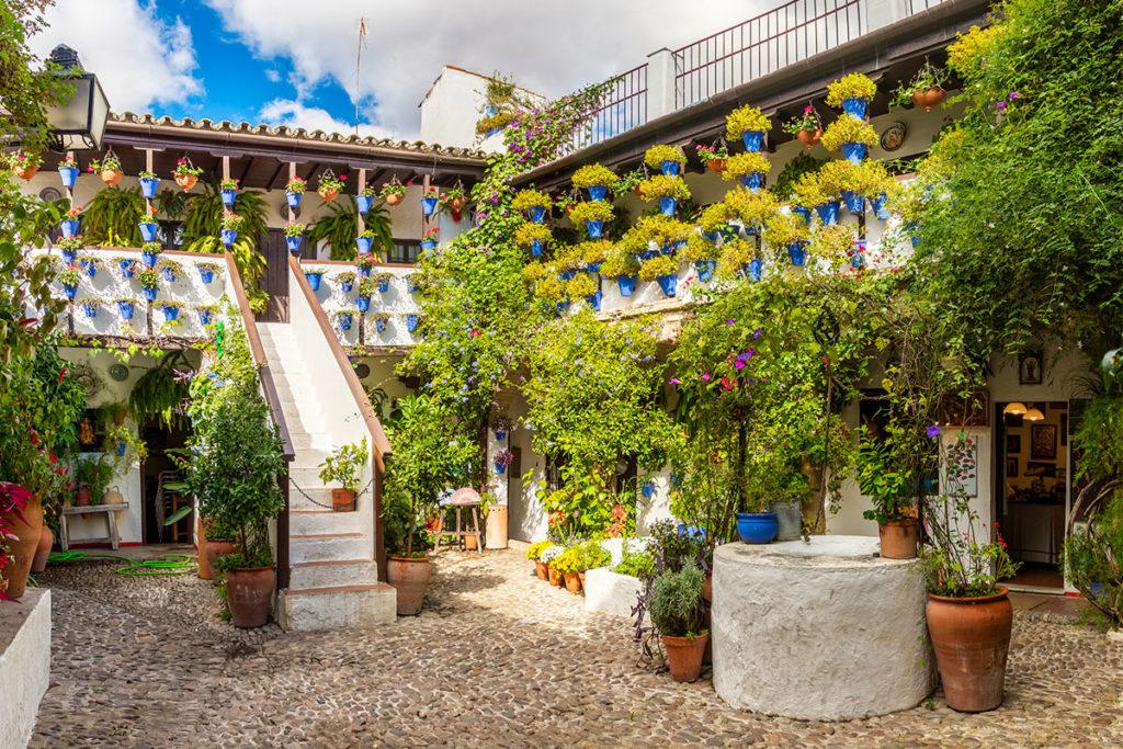El sonido del agua es parte de los atractivos de los patios de Córdoba (iStock)