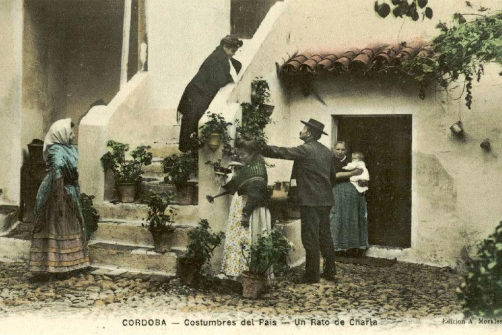 El concurso de los patios se celebró por primera vez en 1921 (patios.cordoba.es)