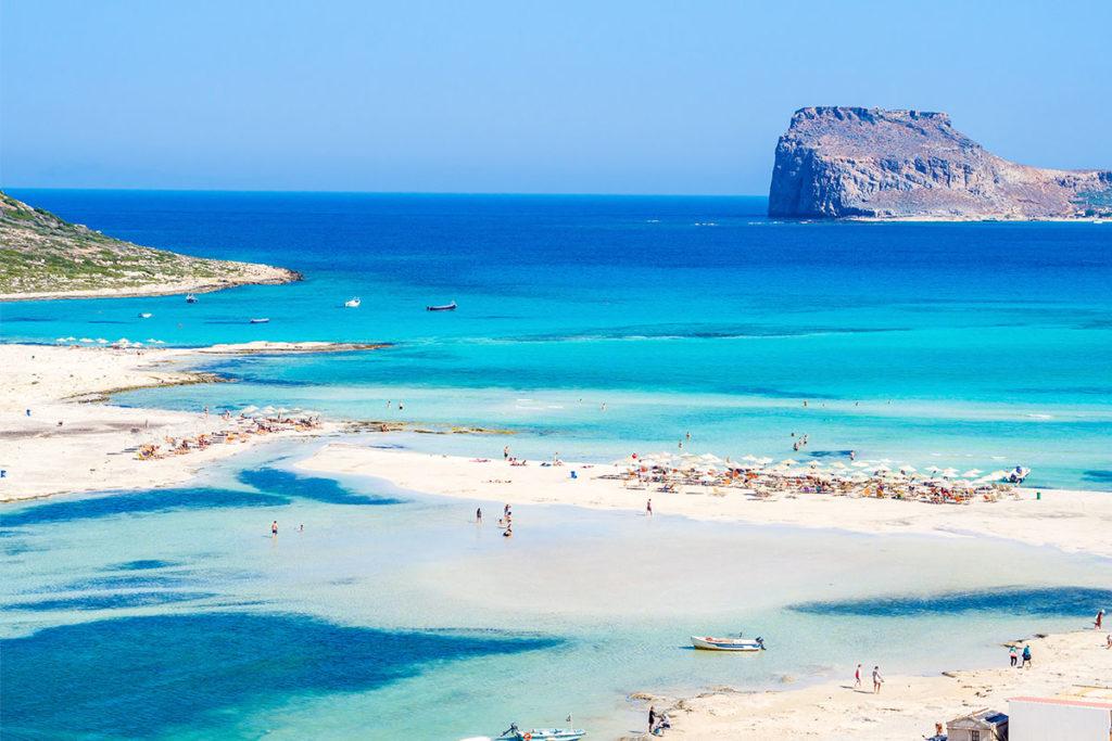 La laguna de Balos, de visita inexcusable si vas a Creta (iStock)