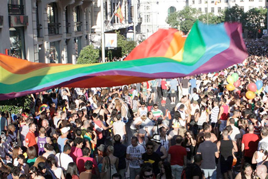 La primera manifestación del Orgullo en Madrid tuvo lugar en 1978 (madridorgullo.com)