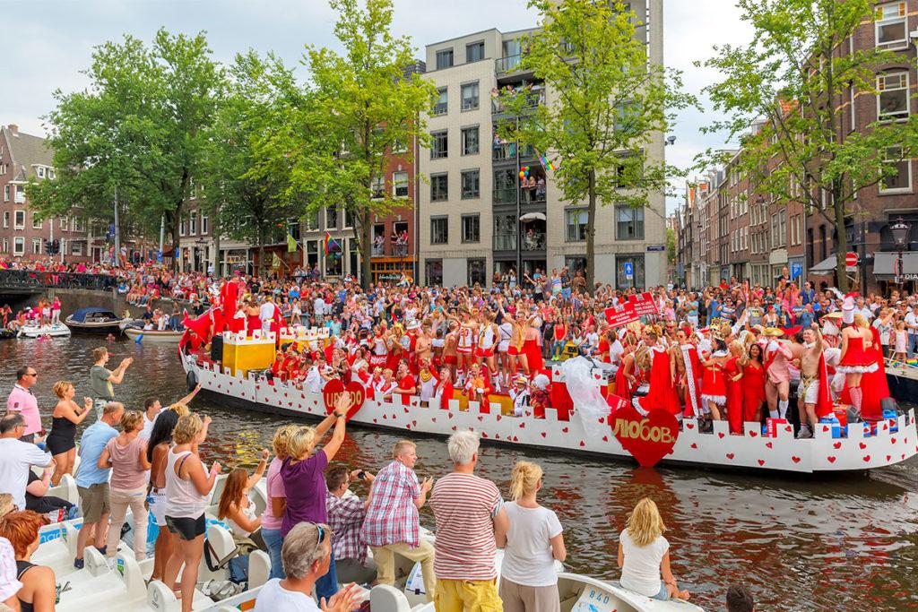 El Gay Pride en Ámsterdam se celebra entre el 27 de julio y el 4 de agosto (iStock)
