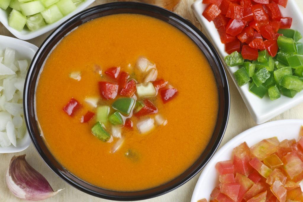 El típico gazpacho andaluz (iStock)
