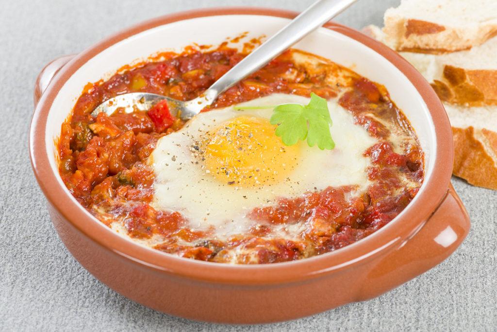 Huevos a la flamenca (iStock)