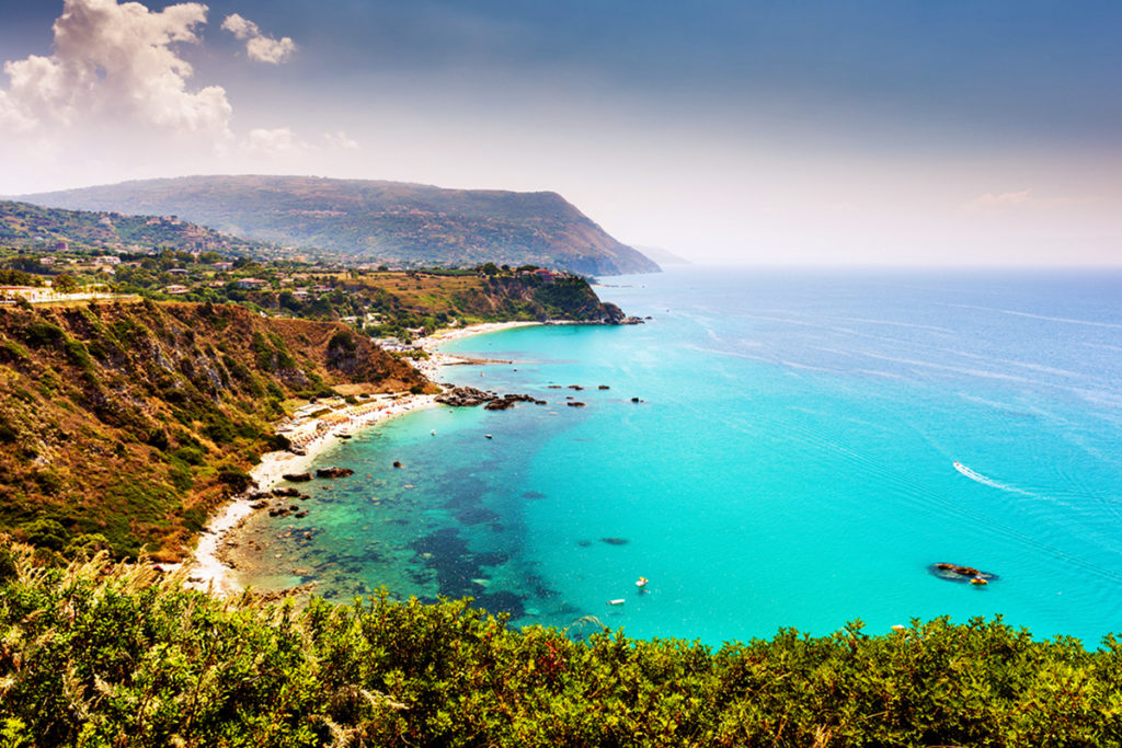 Capo Vaticano, Playa de Grotticelle, Calabria (iStock)