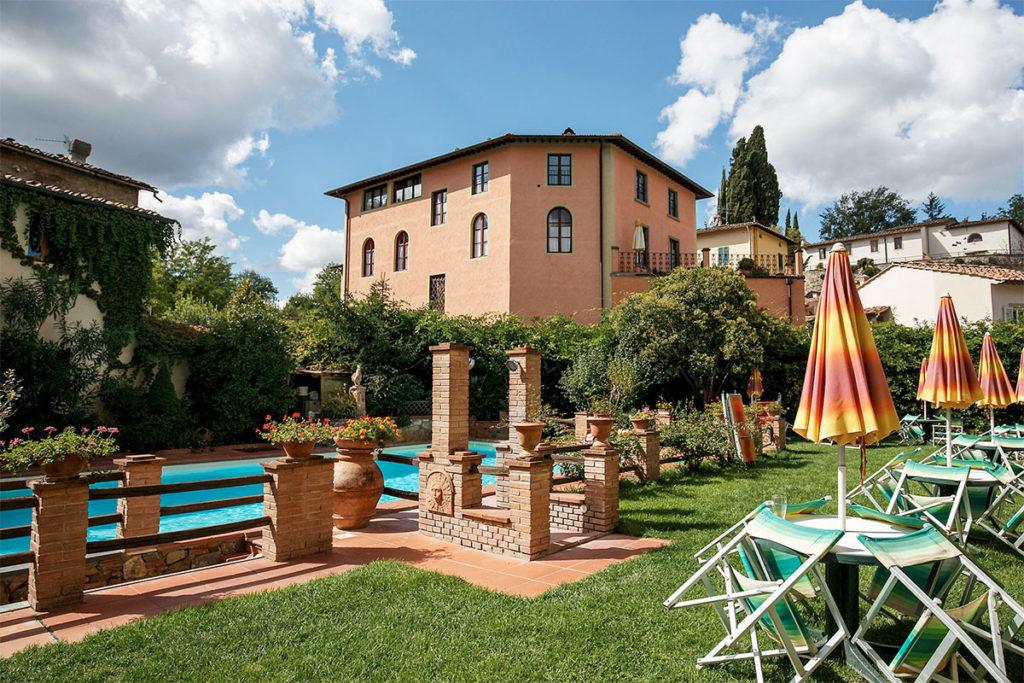 El hotel Albergo del Chianti está en una torre del año 1.000 (albergodelchianti.it)