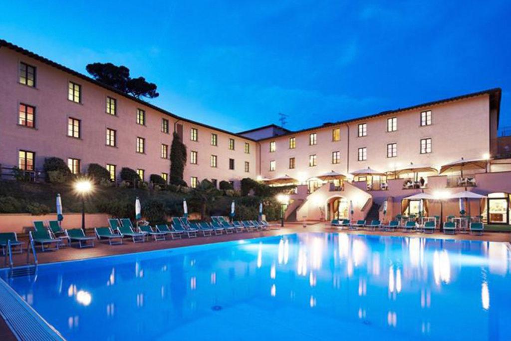 Park Hotel le Fonti está en las colinas de la campiña toscana (Facebook: parkhotellefonti)