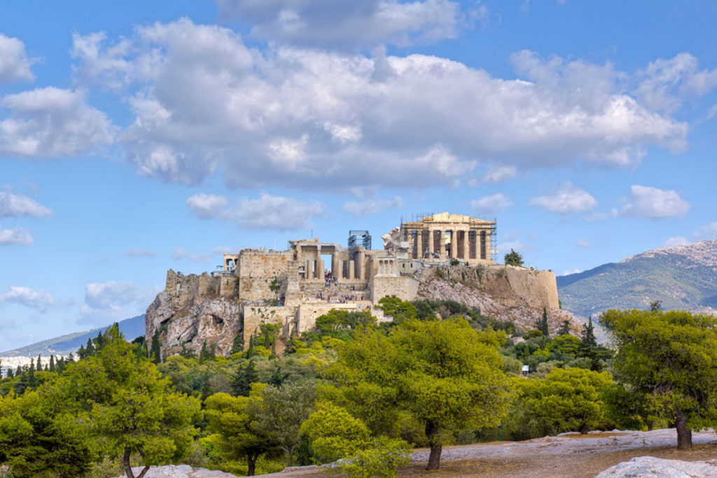 Vistas de la Acrópolis de Atenas (iStock) (iStock)