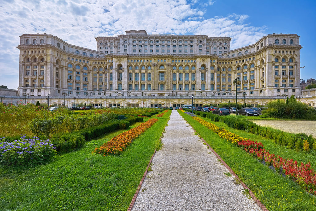 Palacio del Parlamento Rumano (iStock)