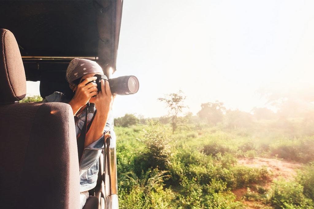 La cámara de fotos no puede faltar en un safari en África (iStock)