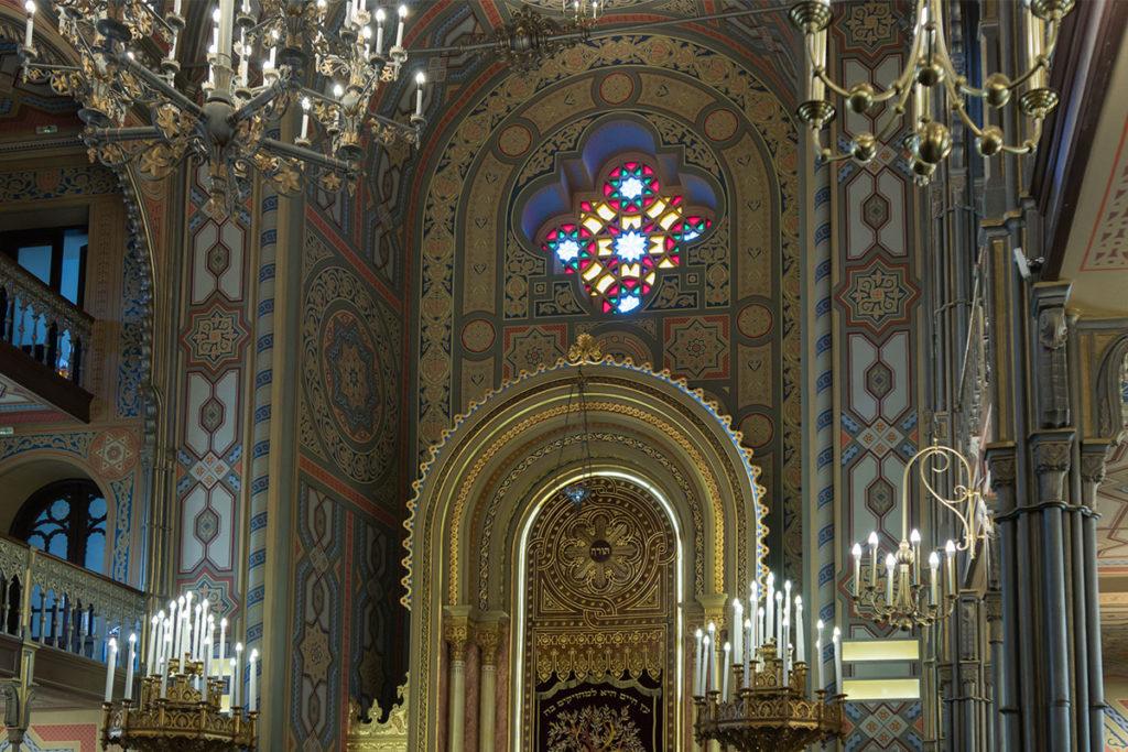 El Templo Coral de Bucarest imita a la sinagoga Leopoldstadt-Tempelgasse de Viena (iStock)