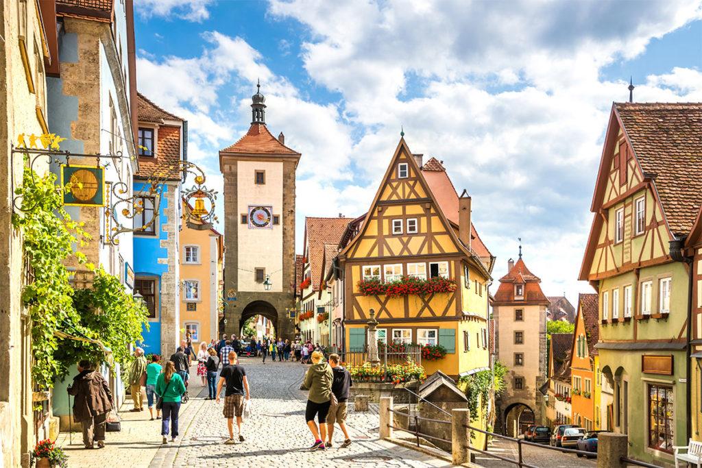 Rothenburg ob der Tauber está en el estado de Baviera (iStock)