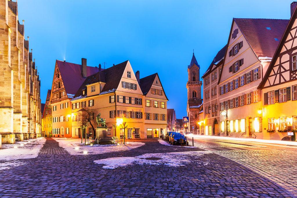 Dinkelsbühl conserva su pasado medieval (iStock)