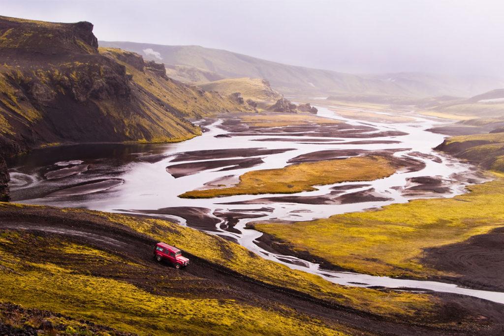 """Las carreteras """"F"""" en Islandia son de montaña y en ellas solo se puede circular con 4 x 4 (iStock)"""