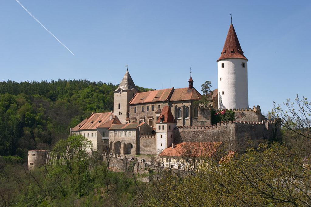 El Castillo Krivoklát original se erigió en el siglo XIII (iStock)