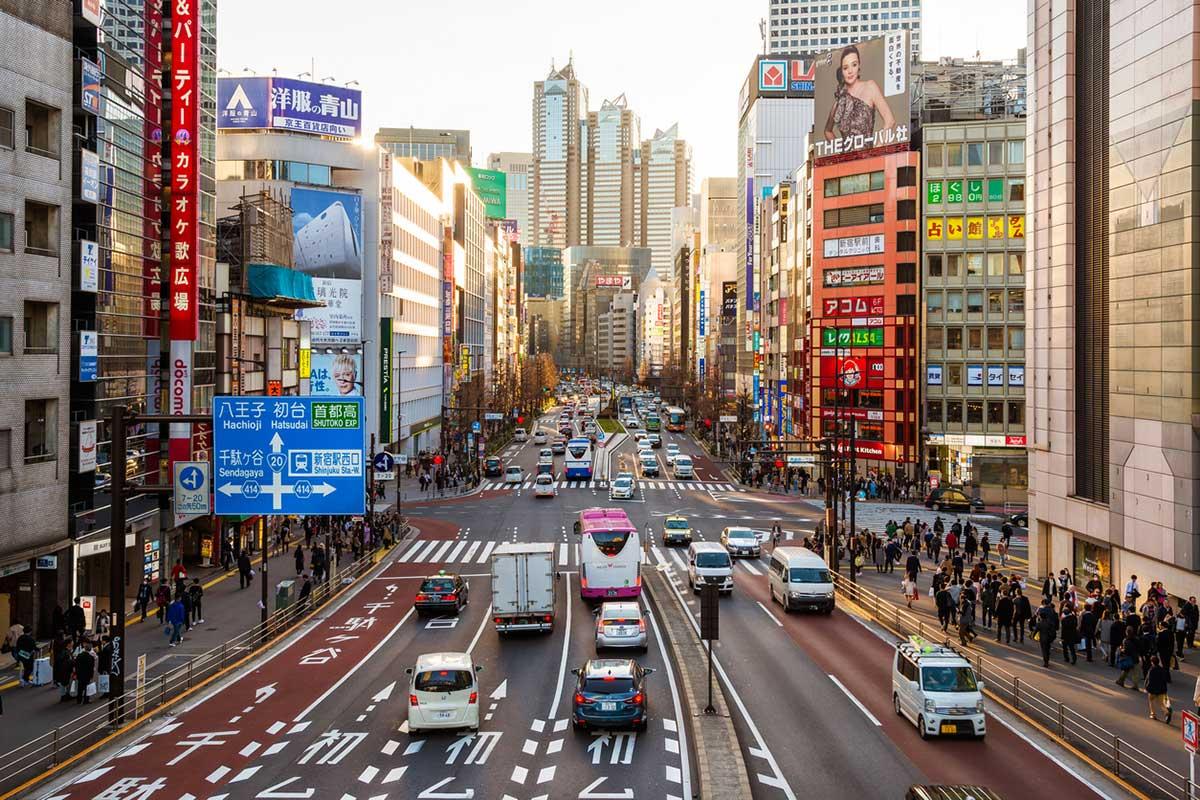 conducir por japon