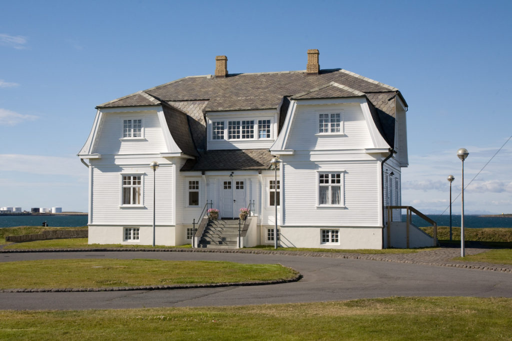 Casa histórica de Hofði (Wikipedia)