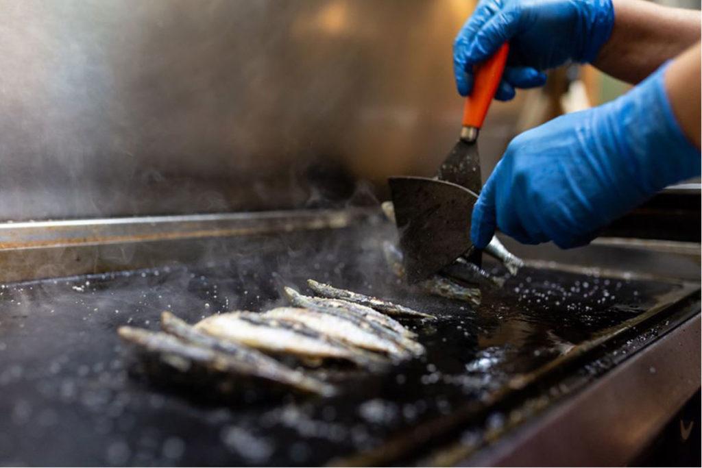 Las sardinas son la especialidad en La Flor de la Sierra (https://www.facebook.com/laflordelasierrazaragoza)