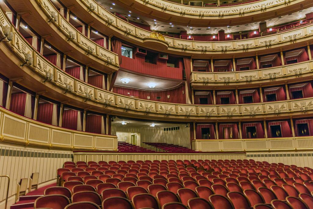 Interior de la Ópera de Viena (iStock)