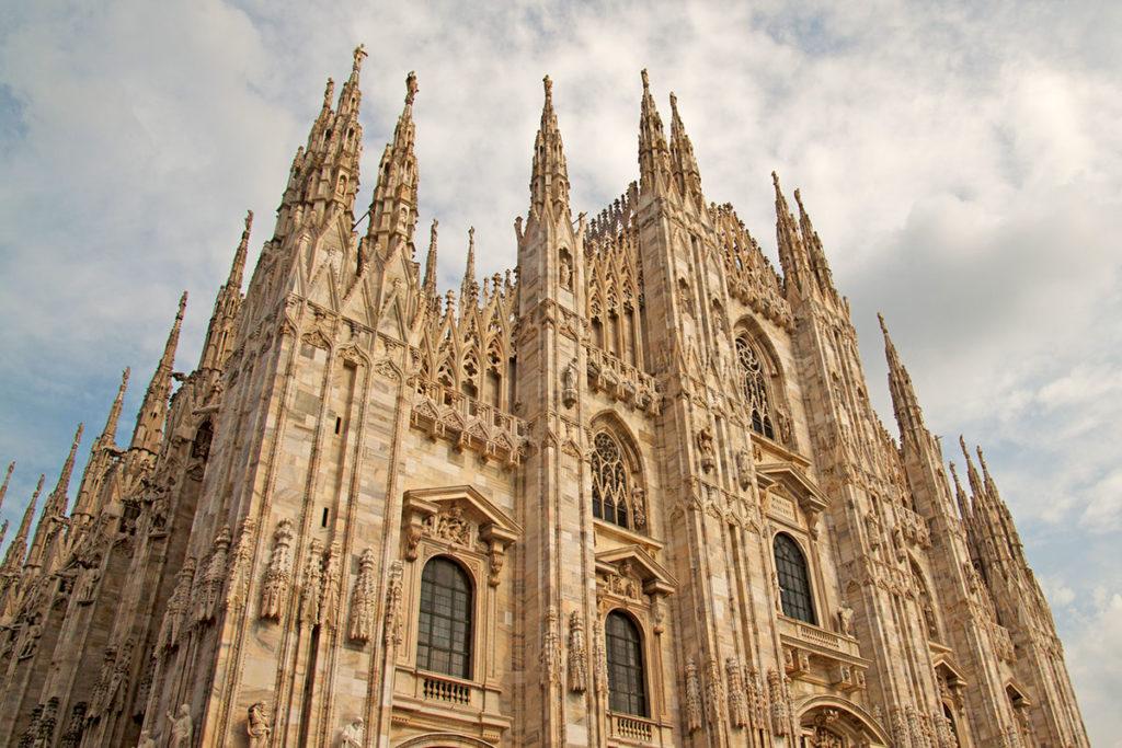 El Duomo de Milán tardó cinco siglos en construirse (iStock)