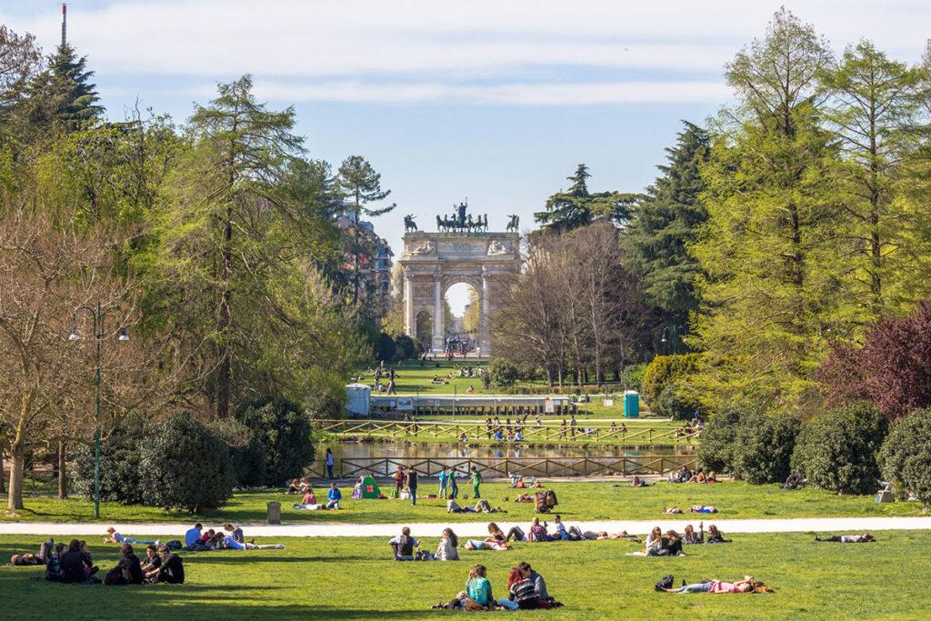 El Sempione es el parque más importante de Milán (iStock)