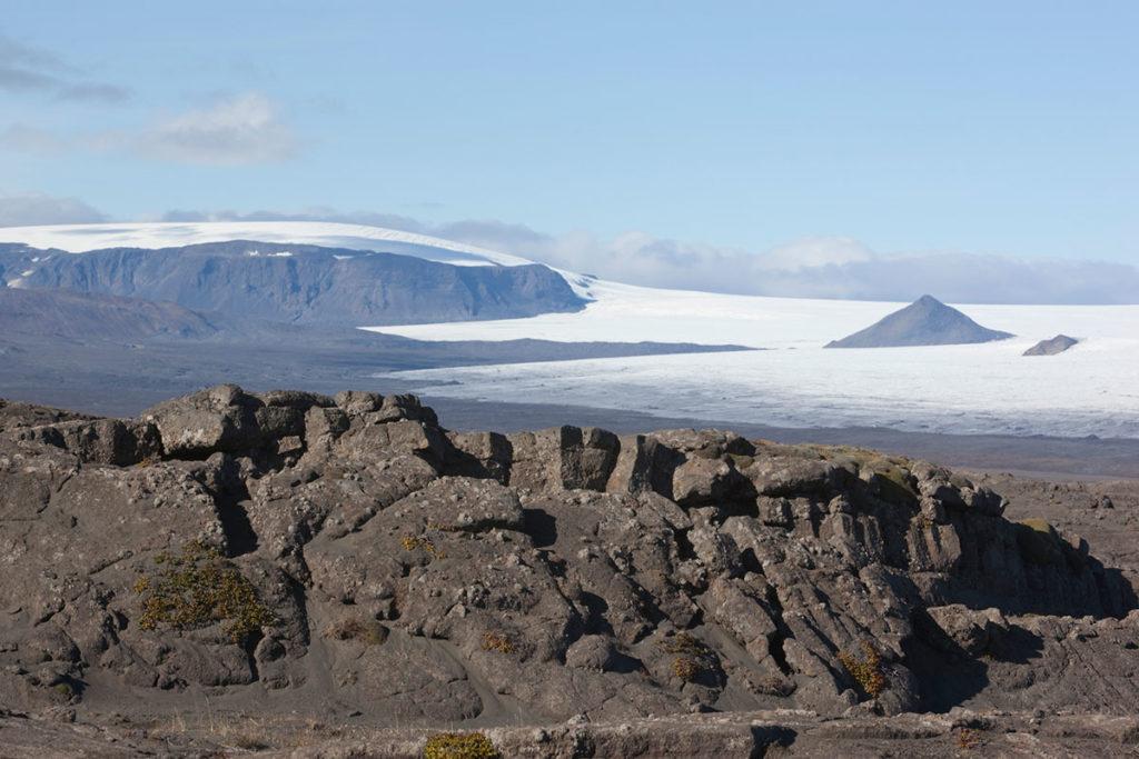 Quedan dos volcanes con actividad en el glaciar Langjökull (iStock)
