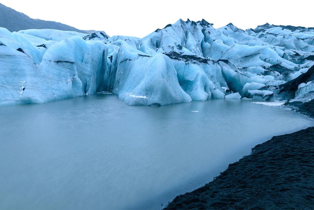 Mýrdalsjökull, otro de los glaciares en Islandia con un volcán activo (iStock)